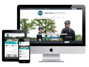 Website - Van Odijk Advocaten - Utrecht
